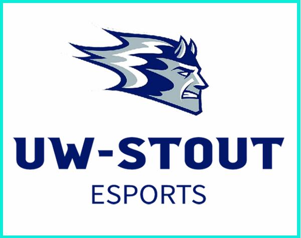 UW Stout esports logo